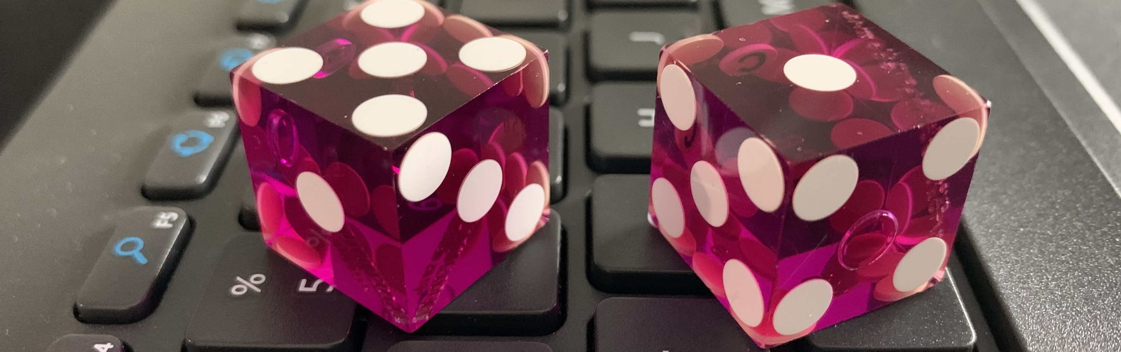 Dice on a Keyboard
