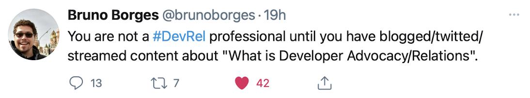 developer relations