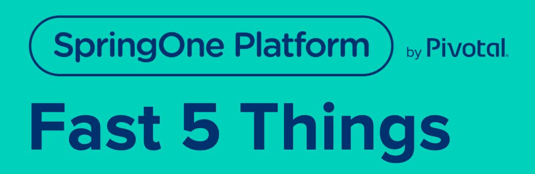 Fast Five of Cloud Modernization