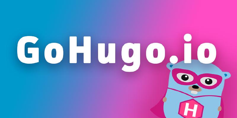 GoHugo Logo
